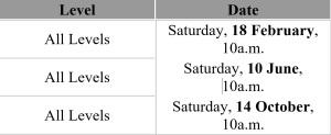 testing-schedule-en